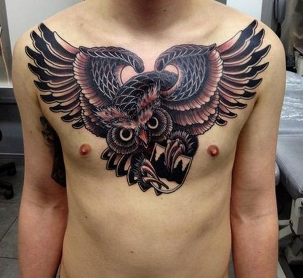 Chest Tattoo 28