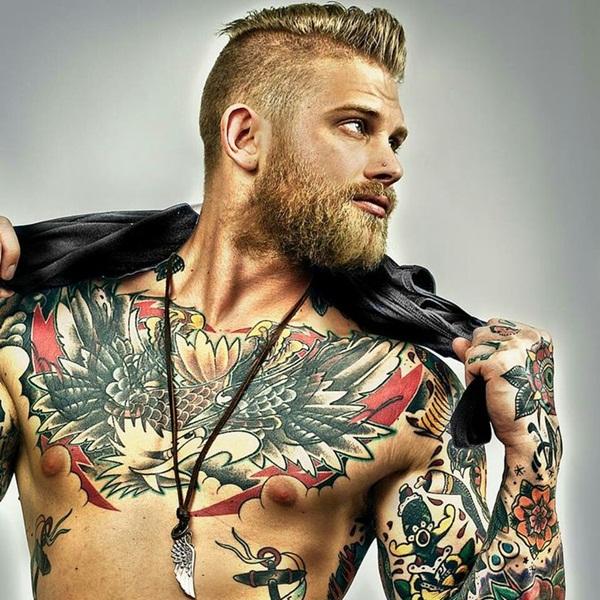 Chest Tattoo 5
