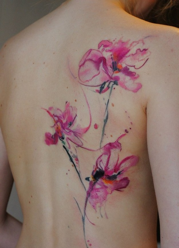 Colorful Tattoo Designs 1