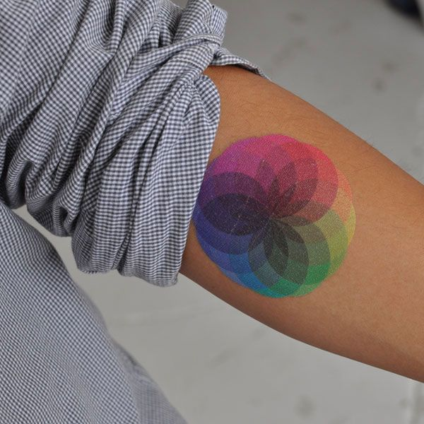 Colorful Tattoo Designs 16