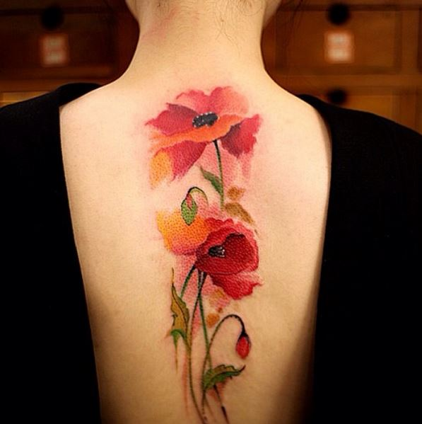 Colorful Tattoo Designs 18