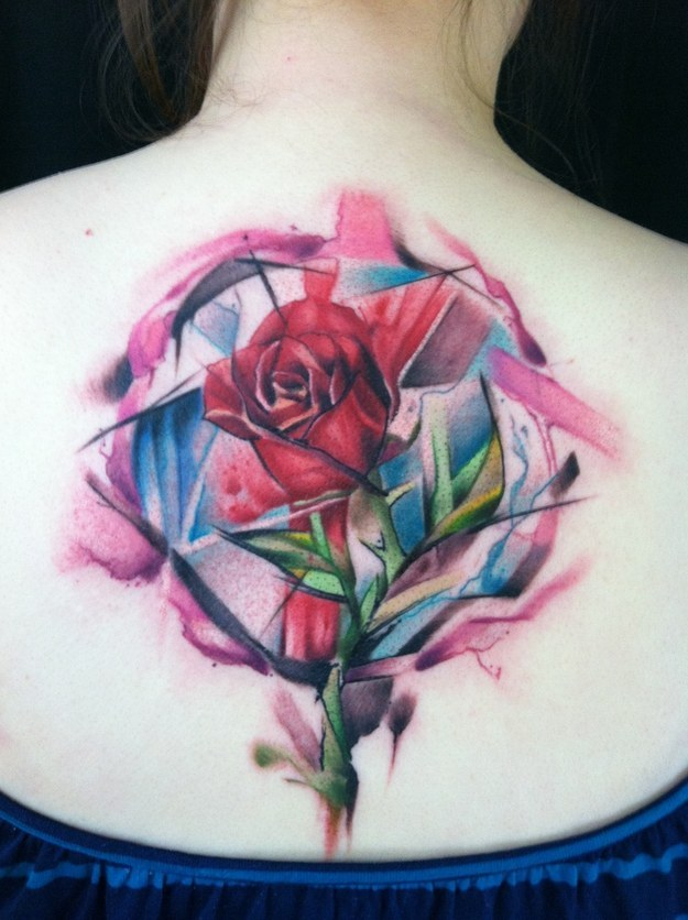 Colorful Tattoo Designs 2