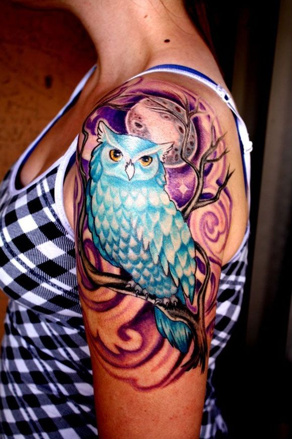 Colorful Tattoo Designs 22
