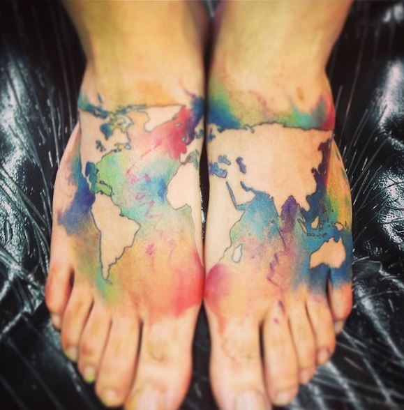 Colorful Tattoo Designs 24