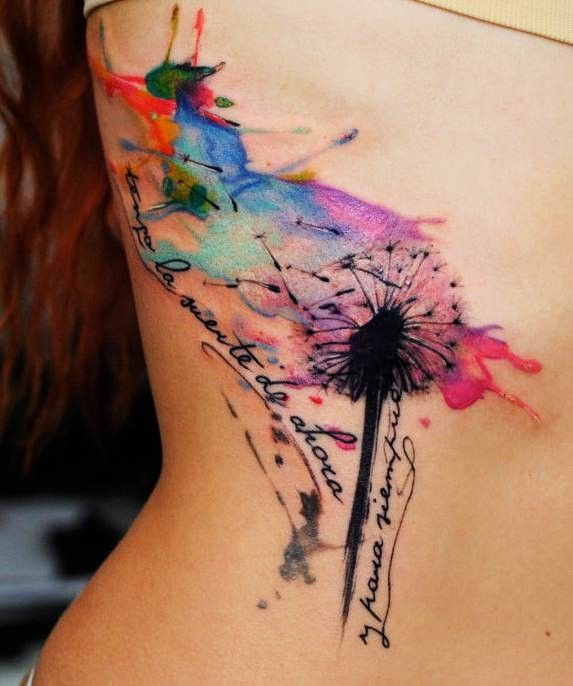 Colorful Tattoo Designs 25