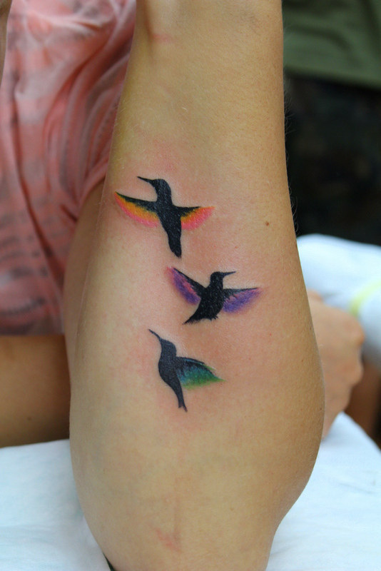 Colorful Tattoo Designs 30