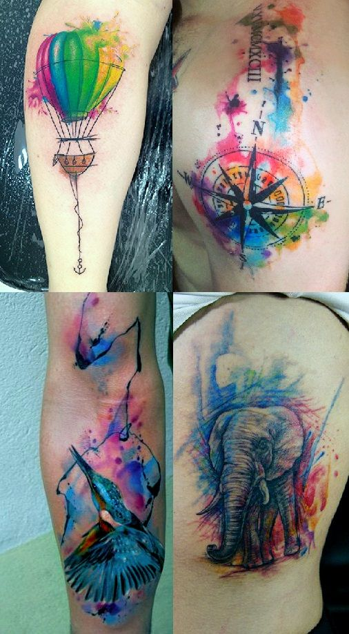 Colorful Tattoo Designs 31