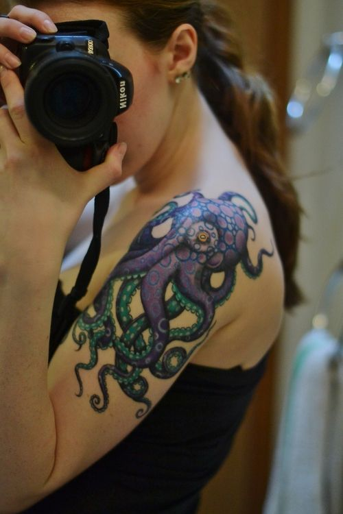 Colorful Tattoo Designs 32