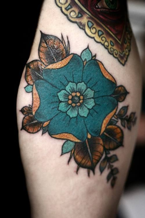 Colorful Tattoo Designs 33