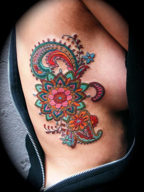Colorful Tattoo Designs 38