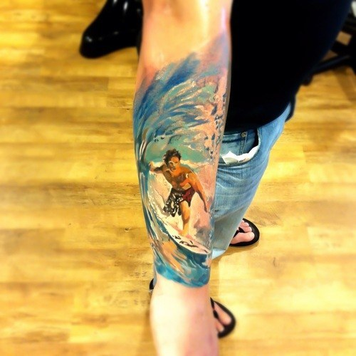 Colorful Tattoo Designs 41