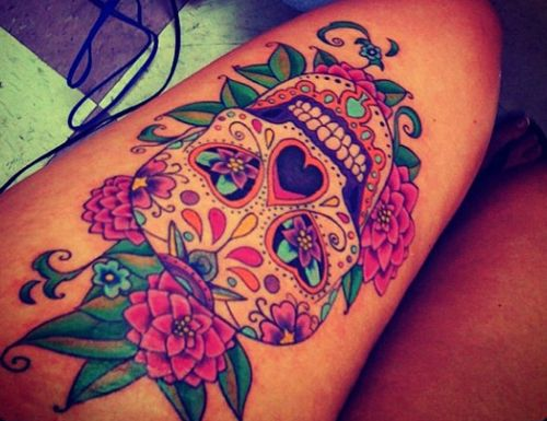 Colorful Tattoo Designs 42