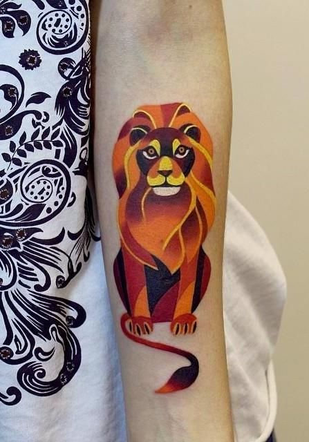 Colorful Tattoo Designs 44