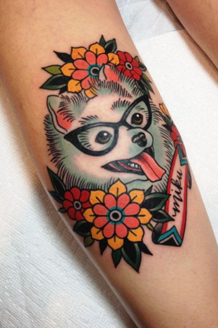 Colorful Tattoo Designs 45