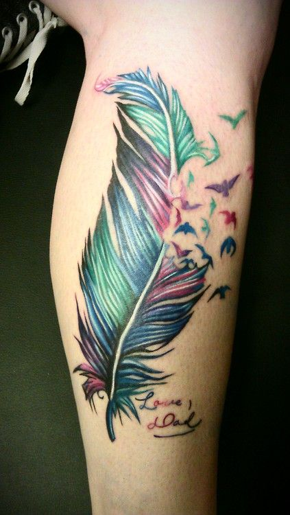 Colorful Tattoo Designs 46