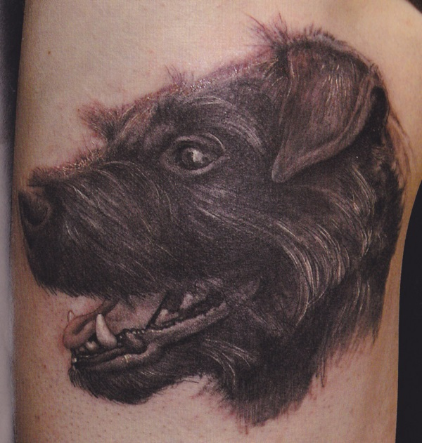 Dog Tattoo Designs 24