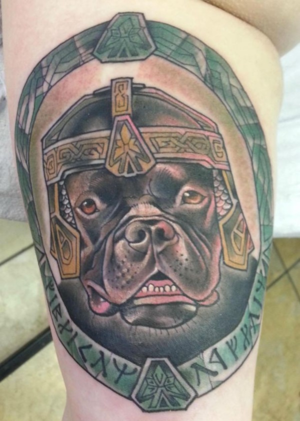 Dog Tattoo Designs 39
