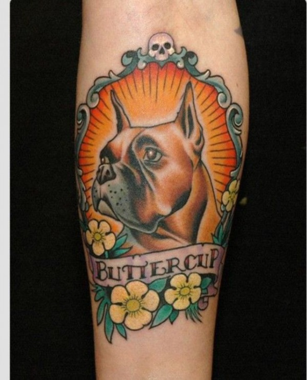 Dog Tattoo Designs 8