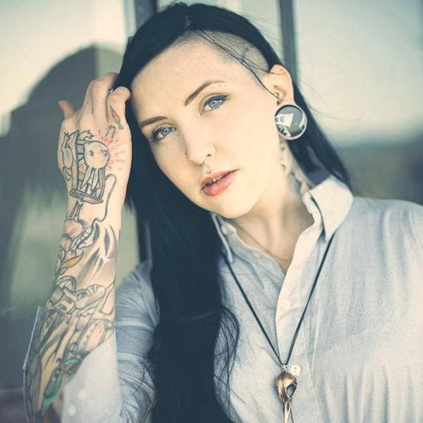 Desenhos de tatuagem de meia manga 19