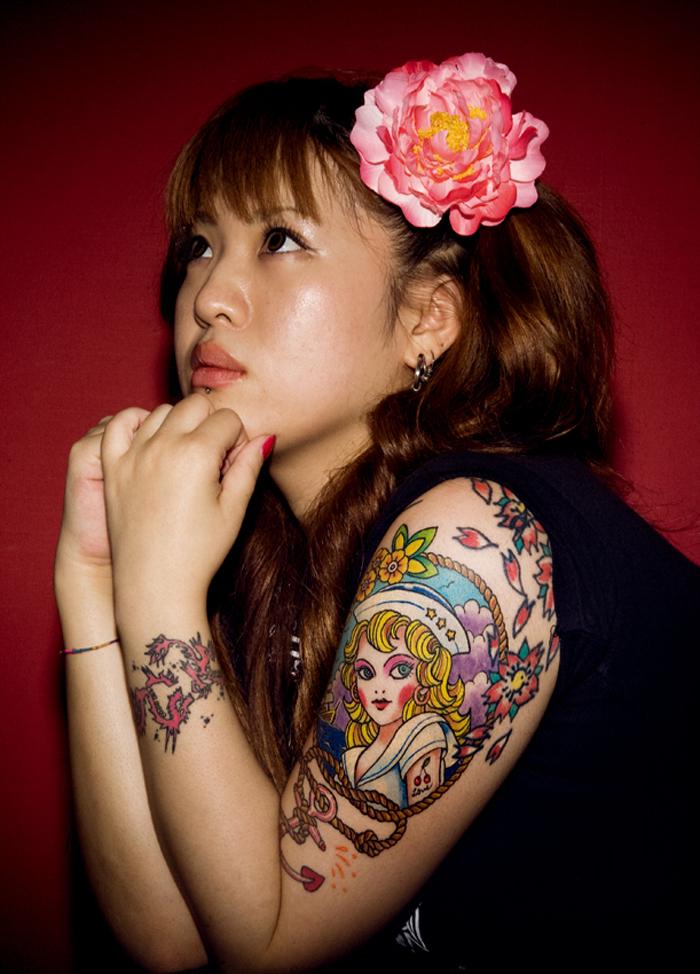 Desenhos de tatuagem de meia manga 54