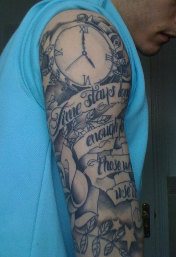 Half Sleeve Tattoo Designs 55