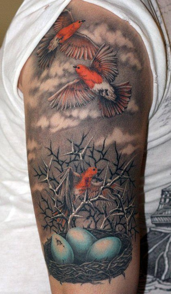Desenhos de tatuagem de meia manga 9