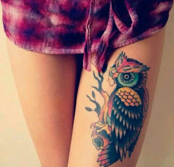 Innovative tattoos for girl 25