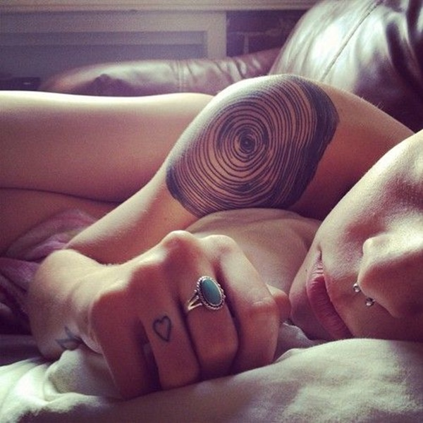 Insanely Gorgeous Circle Tattoo Designs 32