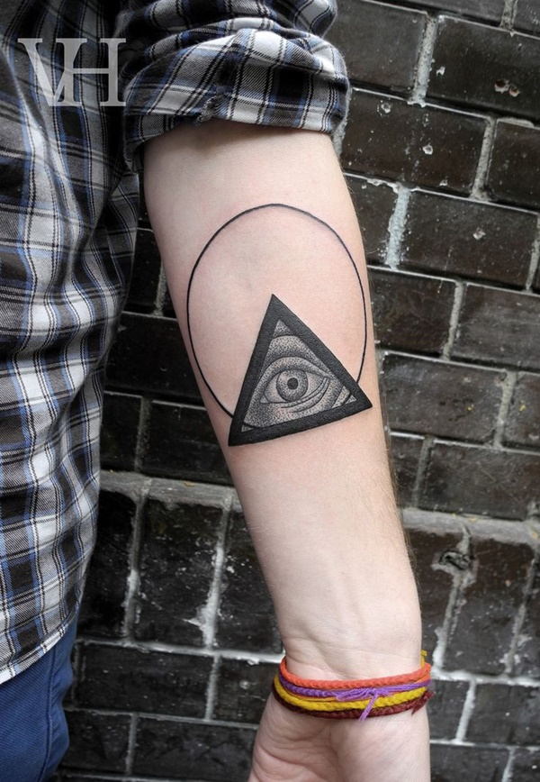 Insanely Gorgeous Circle Tattoo Designs 9