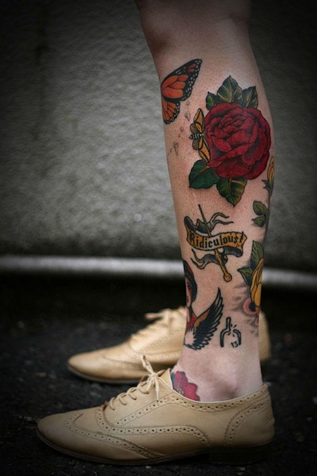 Insanely Hot Leg Sleeve Tattoos 2