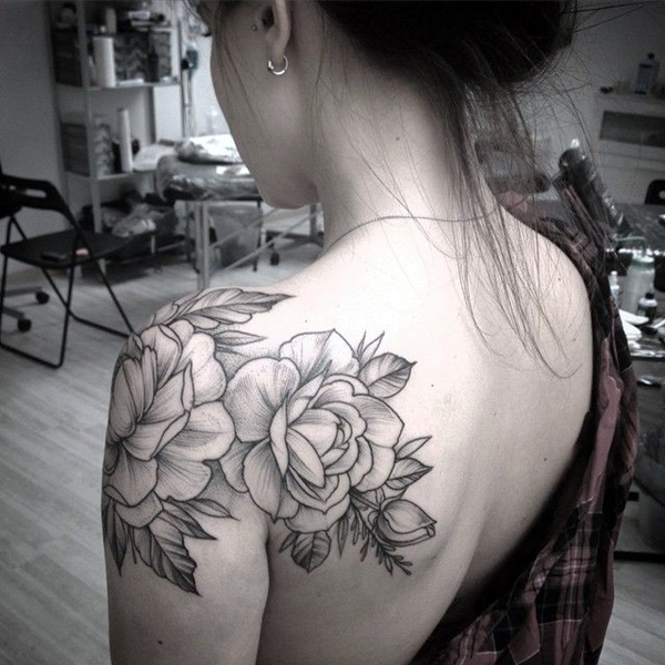 Just Perfect Shoulder Tattoos 28