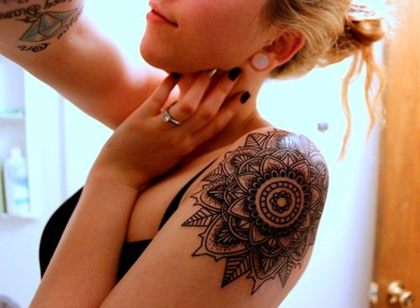Just Perfect Shoulder Tattoos 34