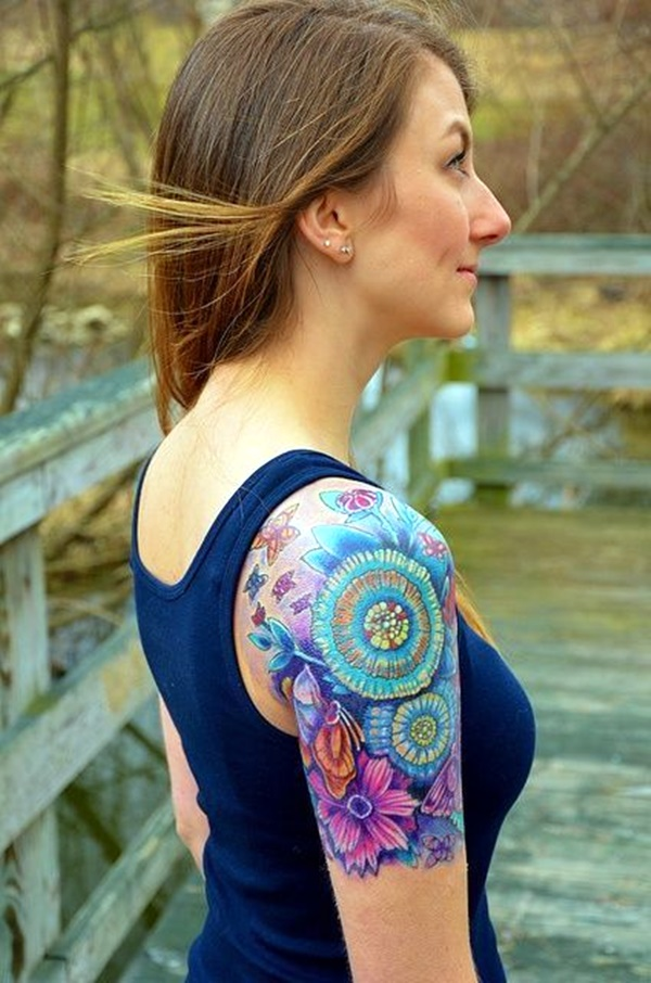 Just Perfect Shoulder Tattoos 6