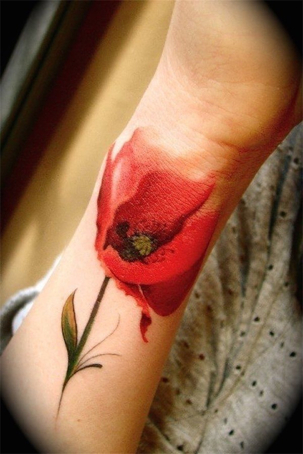 Lovely Flower Tattoo Ideas 10