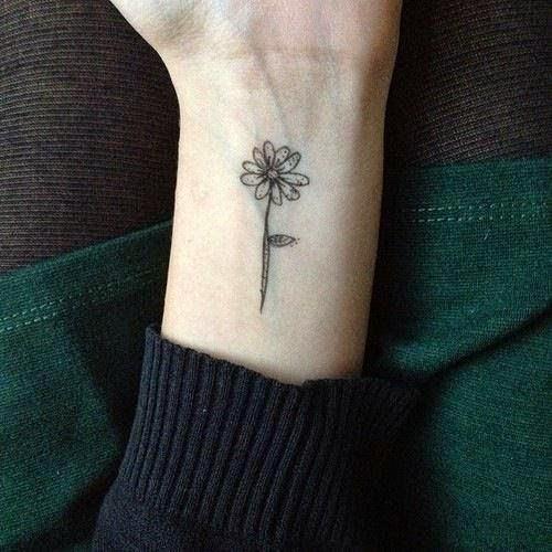 Lovely Flower Tattoo Ideas 104