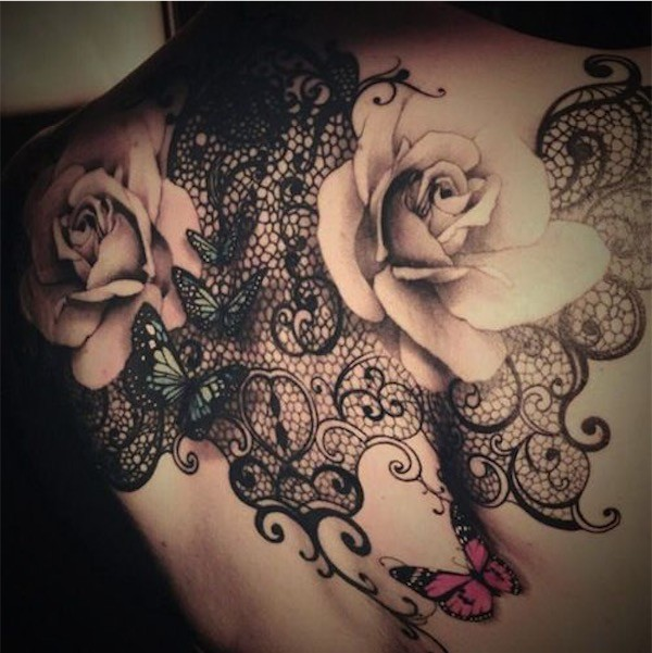 Lovely Flower Tattoo Ideas 17