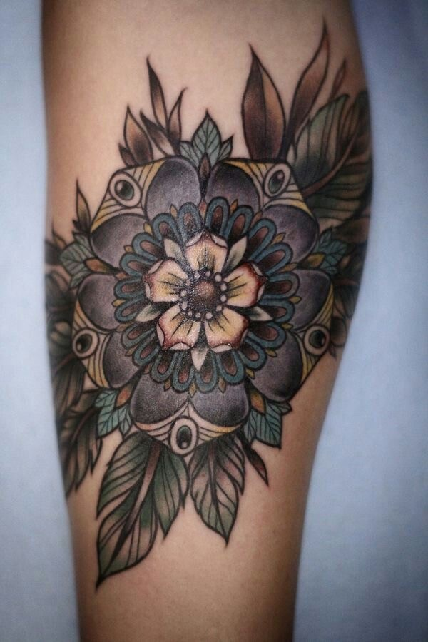 Lovely Flower Tattoo Ideas 18