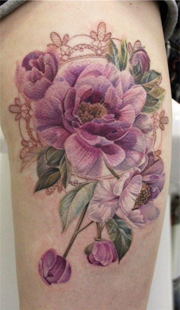 Lovely Flower Tattoo Ideas 21