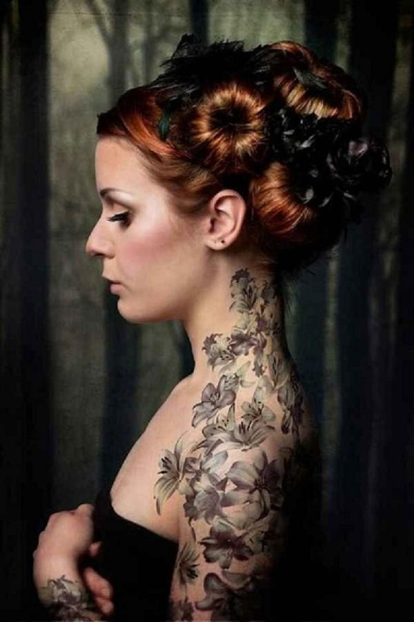 Lovely Flower Tattoo Ideas 22
