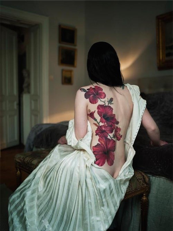 Lovely Flower Tattoo Ideas 23