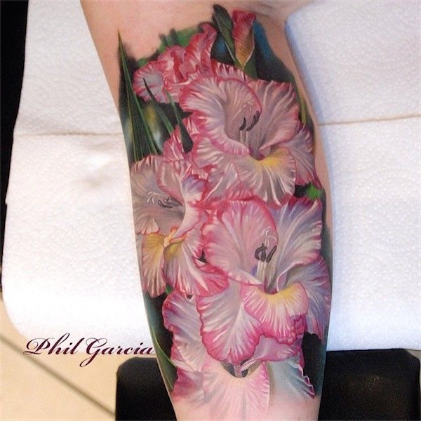Lovely Flower Tattoo Ideas 29