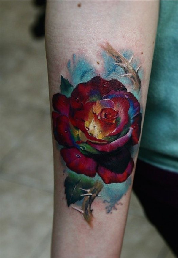 Lovely Flower Tattoo Ideas 3