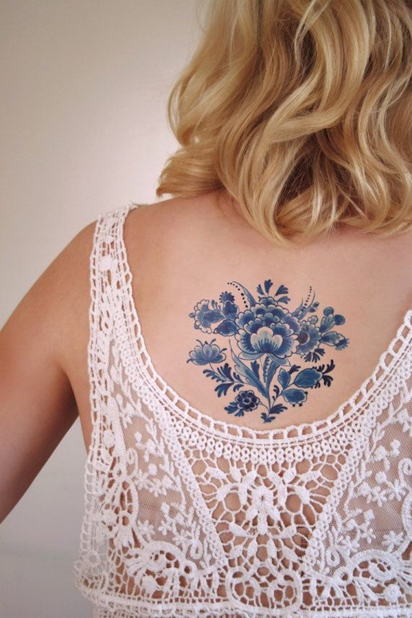 Lovely Flower Tattoo Ideas 34