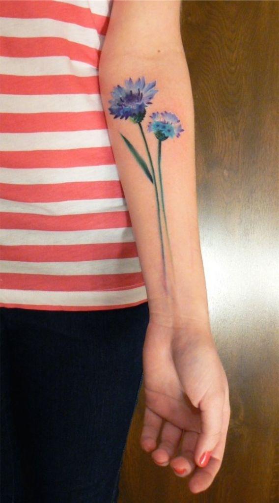 Lovely Flower Tattoo Ideas 36