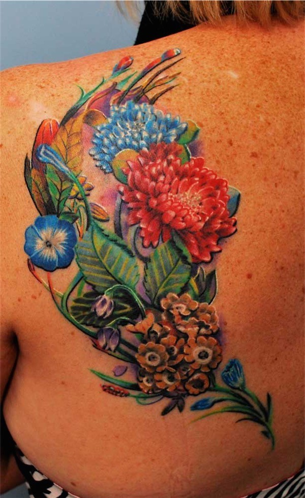 Lovely Flower Tattoo Ideas 41