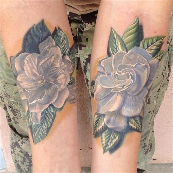 Lovely Flower Tattoo Ideas 43