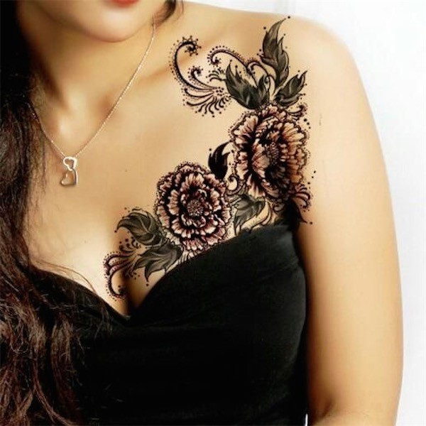Lovely Flower Tattoo Ideas 45