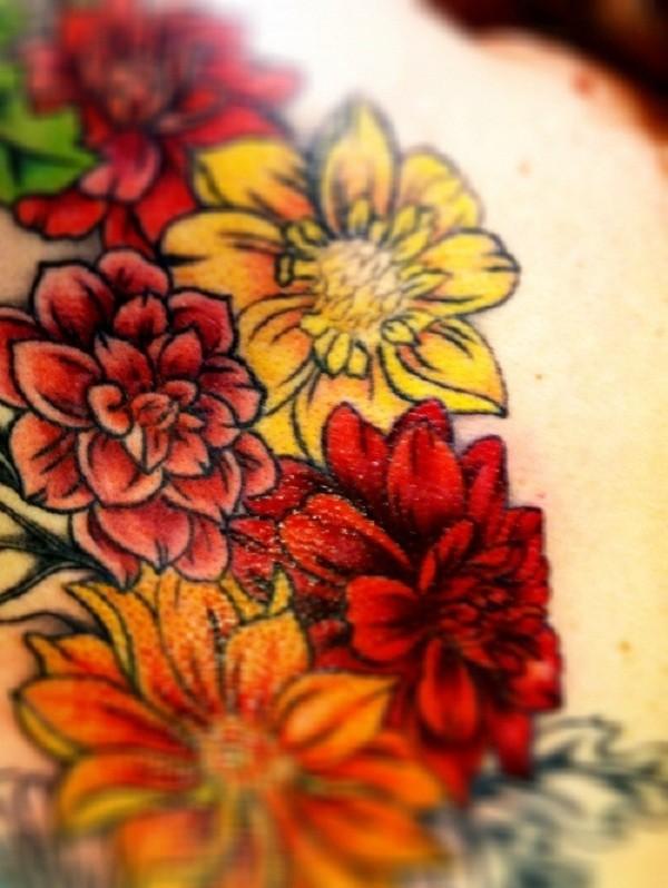 Lovely Flower Tattoo Ideas 48