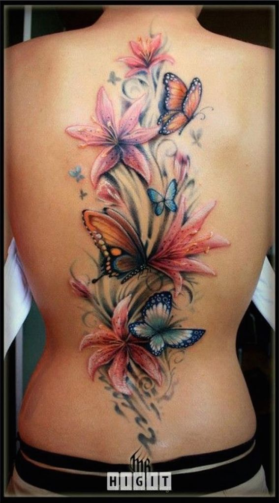 Lovely Flower Tattoo Ideas 5