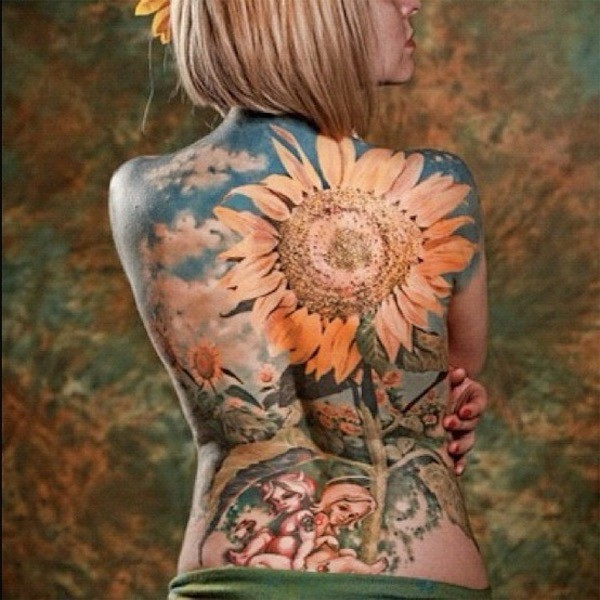 Lovely Flower Tattoo Ideas 50